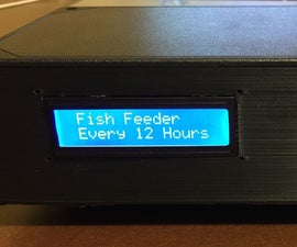 Fish Feeder using Arduino