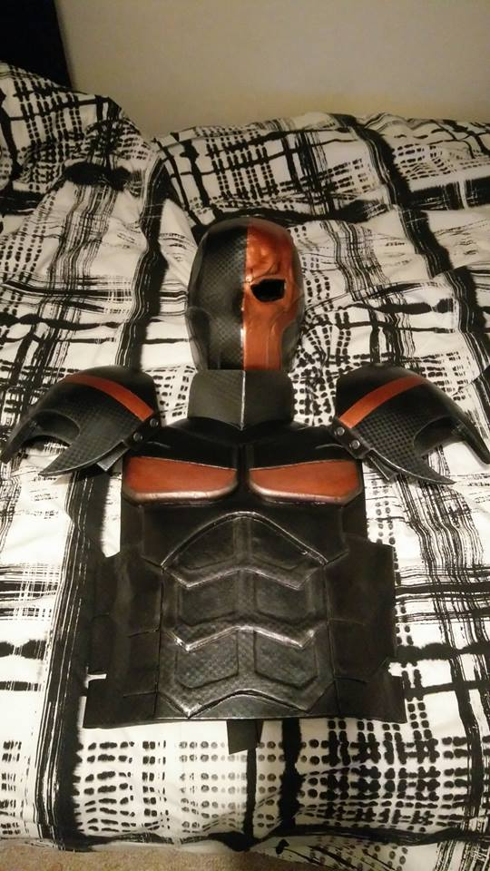 Picture of Deathstroke Foam Cosplay - WIP