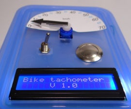DIY bike tachometer