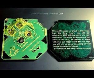 Mechard: Mechanical Greetings Card!