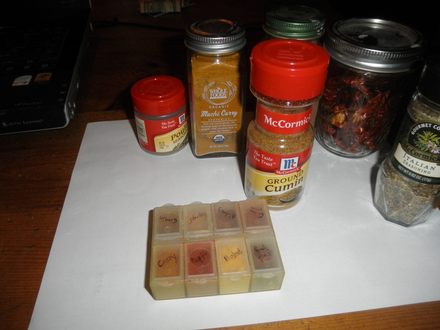 Picture of Travel Spice Rack