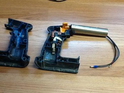 Prep the Handle/ Battery Unit