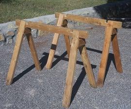Cheap, Improved Sawhorses