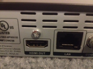 Picture of Plug in the HDMI Cord