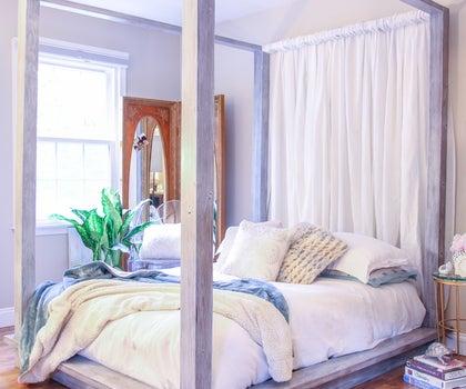 DIY Platform Bed for Under $200