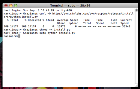 Installing the Raspbmc on Your SD Card