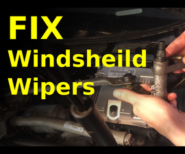 How to FIX Slow Moving or Seized Windshield Wipers