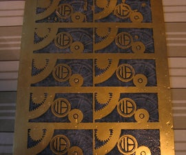 Make your own Embossed Business Cards using Acid Etching