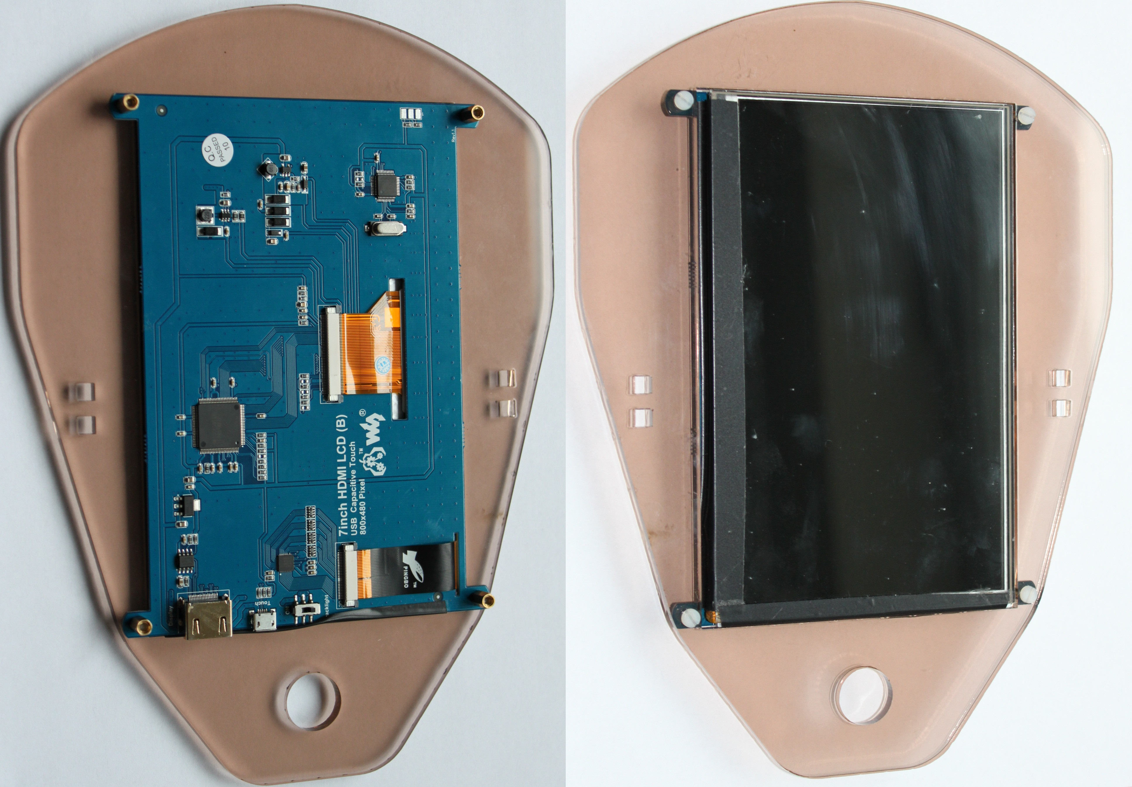 Picture of Mounting Display to Face