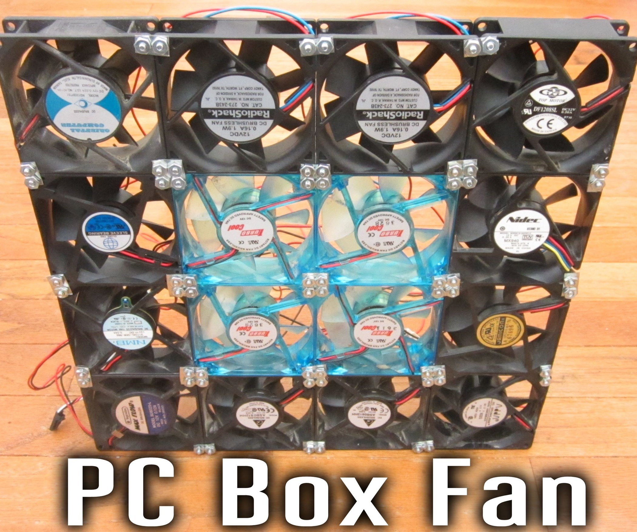 PC Box Fan: 9 Steps (with Pictures)