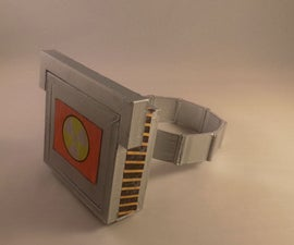 Sci-fi storage bracelet