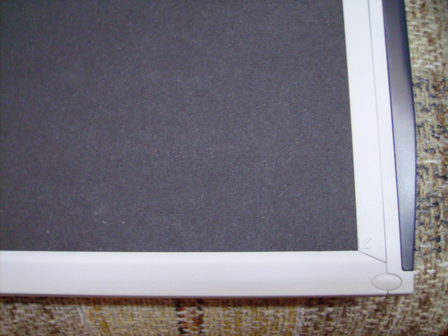 Picture of Cover the Back of the Page With Heavy Black Paper