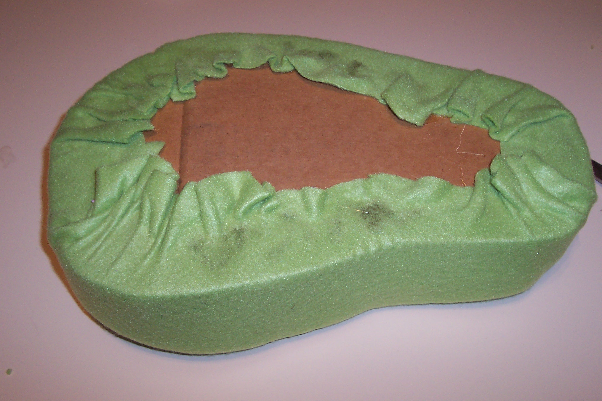 Picture of Adding the Fleece to Your Foot
