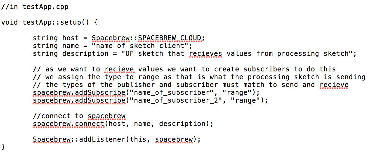 Picture of OpenFrameworks Via SpaceBrew