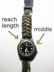 Tying and Blocking of the Watch
