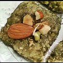 Sprouted moong and Roasted almond Burfi