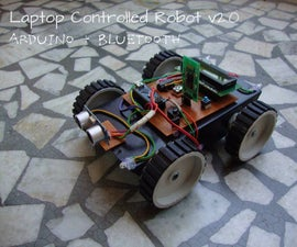 Laptop Controlled Robot v2.0