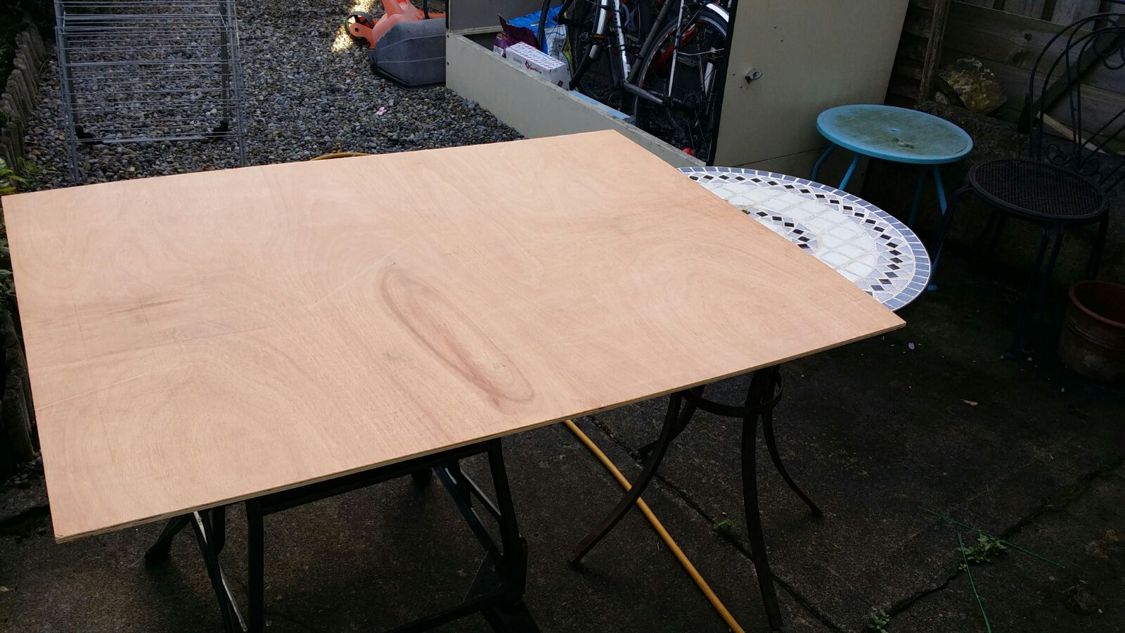 Picture of Step 3: Skinning the Frame, Cutting the Lid