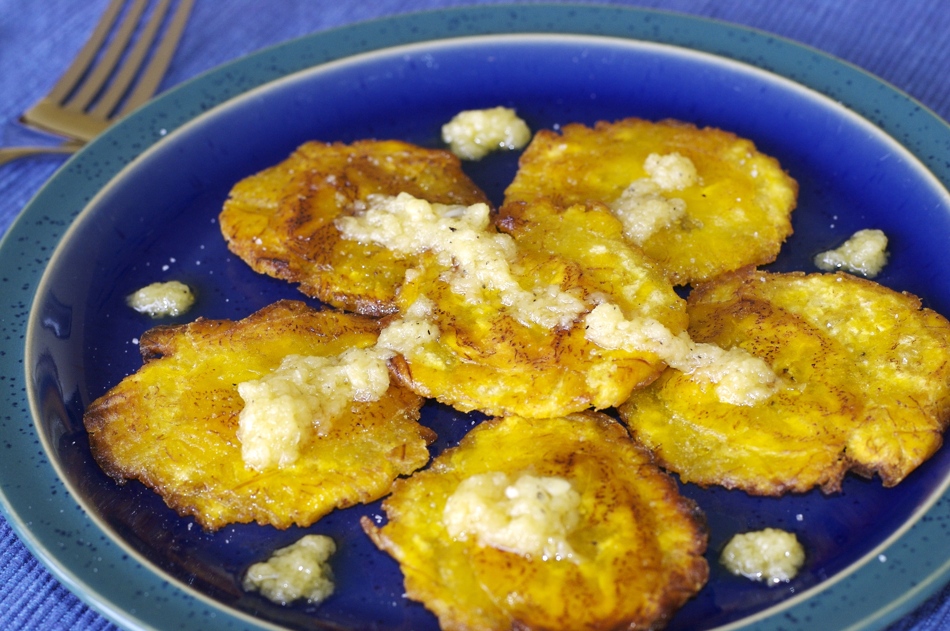 Picture of Tostones (Fried Plantains)