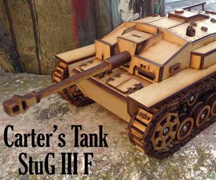 Carter's Lasercut Tank - StuG III Ausf. F