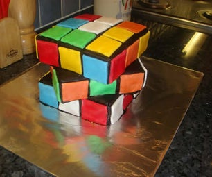 How to Make a Totally Awesome Rubik's Cube Cake!