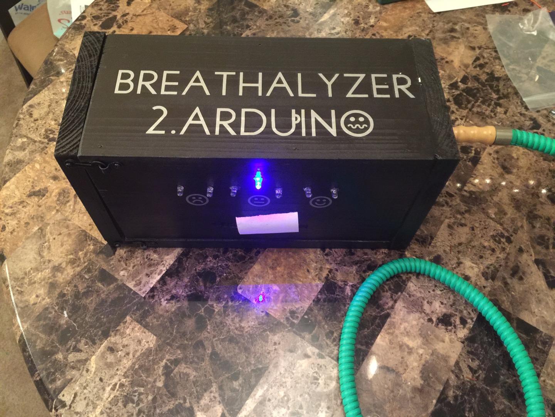 Picture of Breathalyzer 2.Arduino