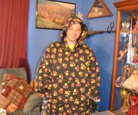 Fleece Hooded Caftan