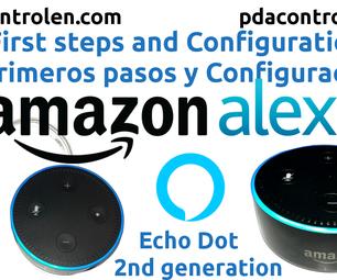 Alexa Amazon Echo Dot  First Steps and Settings
