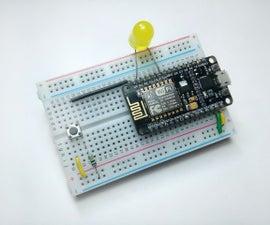Control LED Using PushButton With NodeMCU