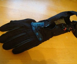 Soft-Circuit Position Sensing Glove