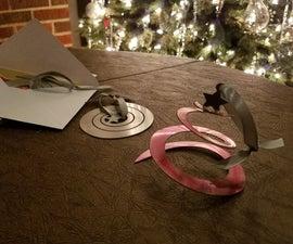 Flat-Pack Christmas Tree Ornaments