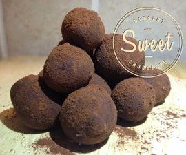 Deceptive Dark Chocolate Truffles in 2 minutes!!!