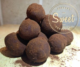 Deceptive Dark Chocolate Truffles in 2 minutes!!!