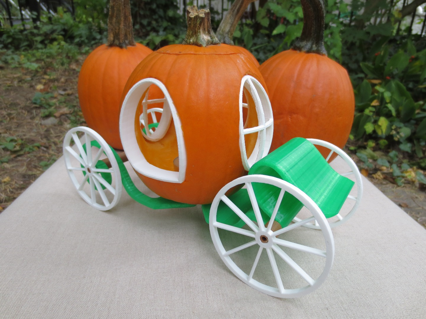 Picture of How to Make an Enchanted Pumpkin Carriage