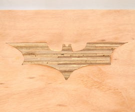 DIY Batman Plywood Bench With Shou Sugi Ban Legs