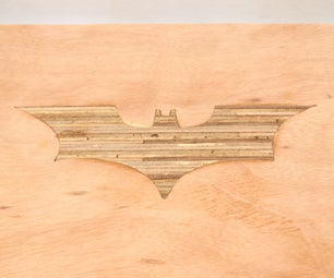 DIY Batman Plywood Bench With Shou Sugi Ban Legs
