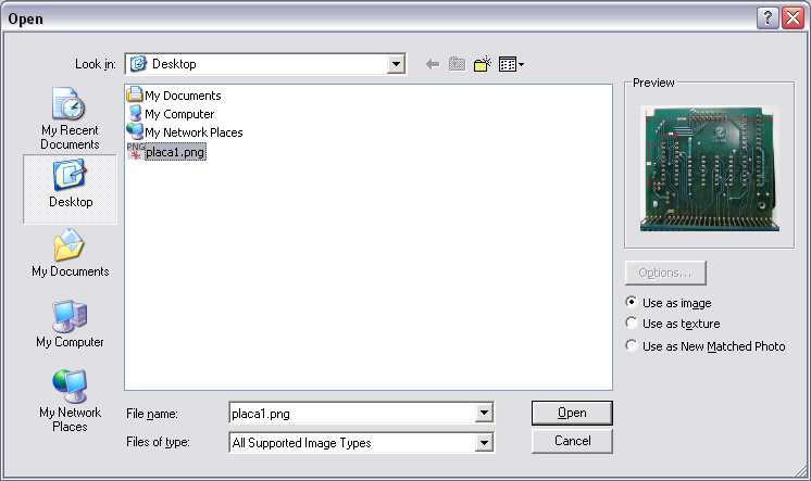 Picture of Importing the Image