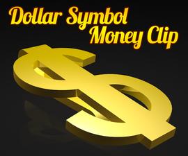 Dollar Symbol Money Clip