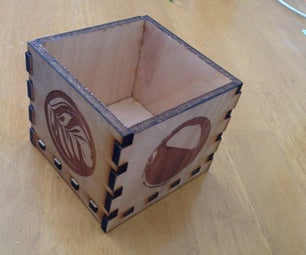 Making a Simple Laser-Cut Box With a Supportive Bottom