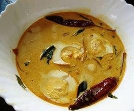 Egg Stew in Kerala Style