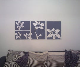 if you are not a good painter, you can make a stylish painting too