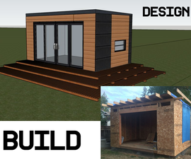 Tiny Home Office Shed