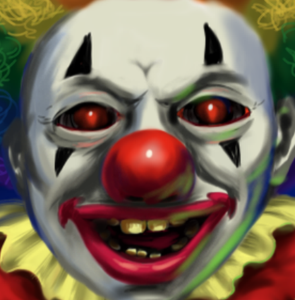 How to Draw a Creepy Clown