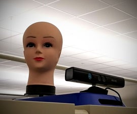 Sound Localizing Mannequin Head With Kinect