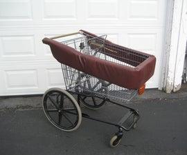 The mobility walker shopper Cart