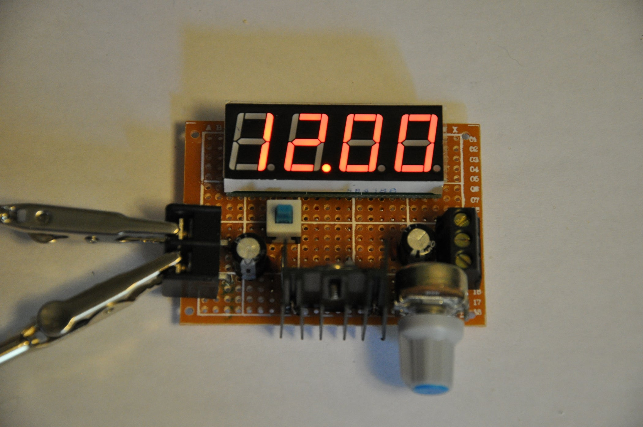 The Extremely Simple Digital Dc Power Supply 5 Steps Variable Circuit Together With