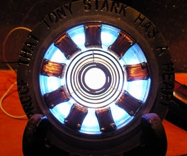 IRON MAN 's  ARC REACTOR  (MADE IN CHINA)