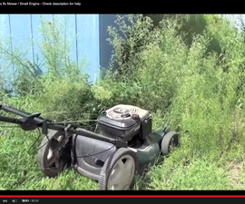 How to fix mower / small engine