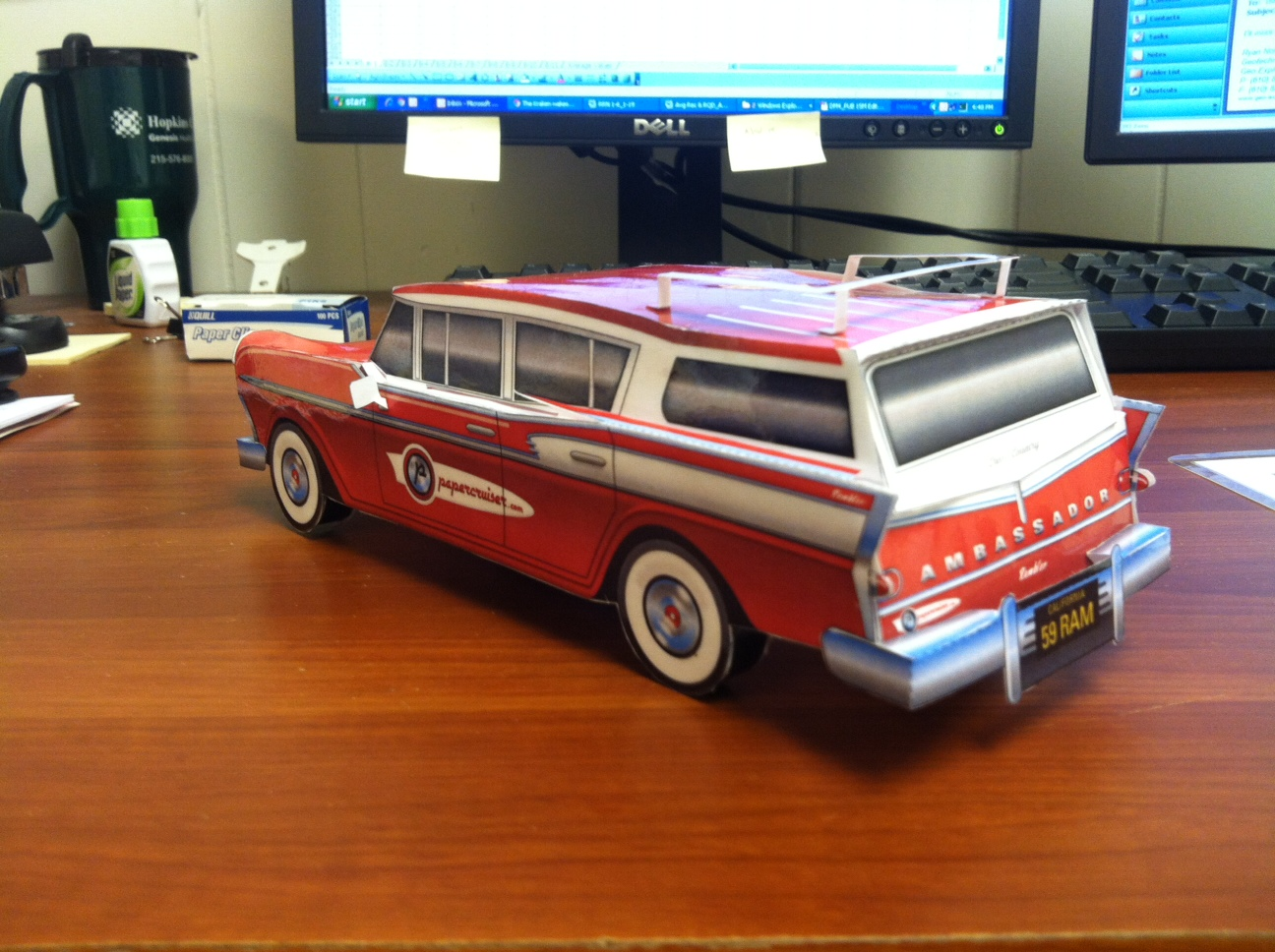 Picture of Papercruiser Model Cars