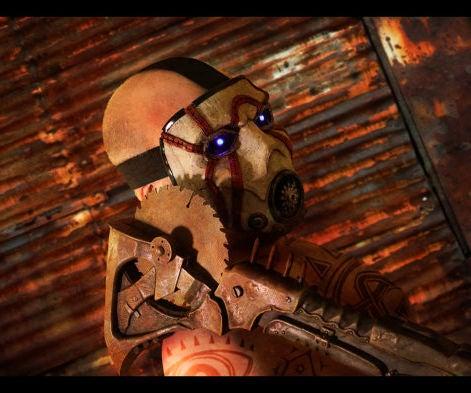 Borderlands Psycho Bandit Buzz Axe 1:1 Scale Cosplay Prop